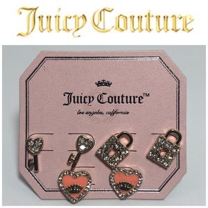 Juicy Couture GT Stud Earring 3 Pack